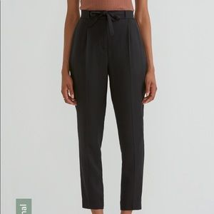 Frank & Oak Tencel Black Pants